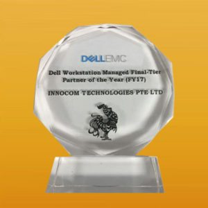 Dell Workstation Managed Final Tier-Partner of the Year FY17