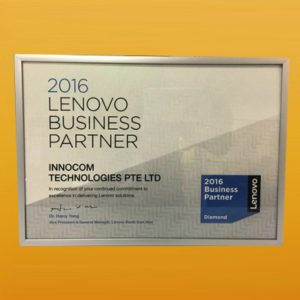 Lenovo Business Partner FY16