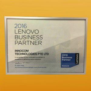 Lenovo Business Partner FY16